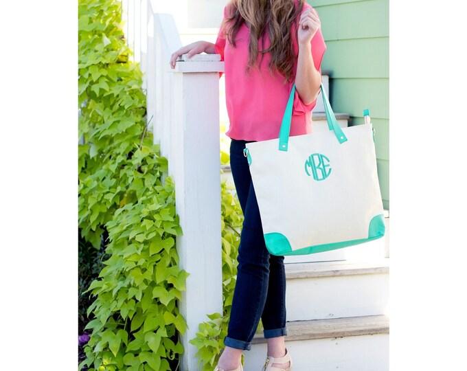 Monogram Purse, Monogrammed Bag, Monogrammed Gifts, Personalized Book Bag, Laptop Bag, Teacher Bag, School Bag