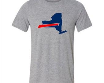 Buffalo bills etsy for Custom t shirts buffalo ny