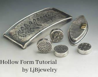 Tutorial, Metalsmith Tutorial, Hollow Form Tutorial, Metalwork, Handmade, Artisan Jewelry