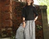 black linen shirt, black blouse, black linen tunic tops, linen shirt tops, loose fitting linen, linen shirt tunic, boho shirt