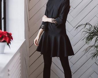 prom dress, little black dress, dress, black dress, short dress, polka dot dress, dress with lace, casual dress, party dress, cocktail Dress