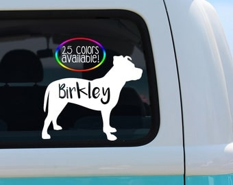 Pitbull Decal, Pit Decal, Pitty Decal, Vinyl Decal, Car Decal, Personalized Decal, Pitbull Lover Decal, Laptop Decal, Pitbull Mom, Pit Mom