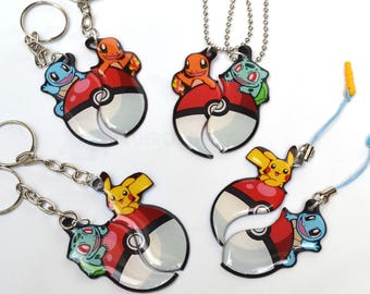 Poke Friendship necklaces