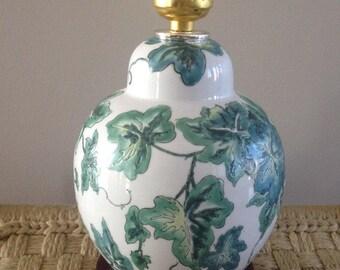 SALE! green leaf botanical design lamp