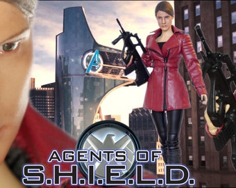 Marvel's Agents of S.H.I.E.L.D. Maria Hill 1/6 scale 12 inch Custom Painted Doll