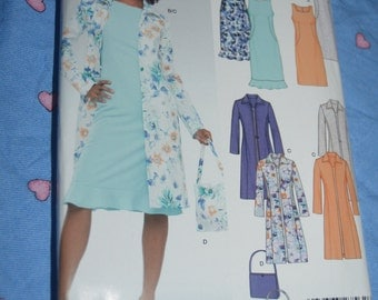 New Look 6346 Misses Dress and Jacket Sewing Pattern - UNCUT - Sizes 8 - 18