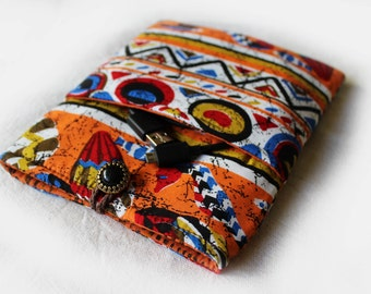 Bright African tribal E-reader cover, Kindle Paperwhite, kindle voyage, kindle oasis, Kobo glo HD, Kobo Aura, Nook glowlight, kindle cover