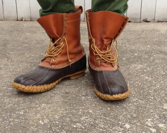 Leather & Rubber Outdoorsman Boots, L. L. Bean Classic Snow Boots
