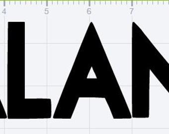 Galantis Logo Vinyl Sticker