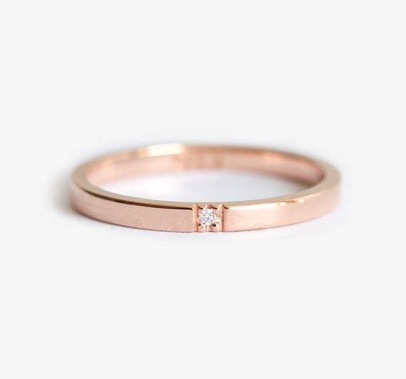 like this item - Flat Wedding Rings