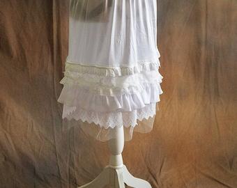 Six Layer Variety Lace Skirt/Dress Extender, Slip Lengthener