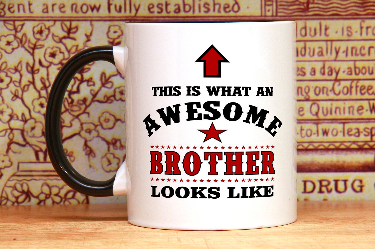 Brother Coffee Mug For Little Gift Idea