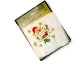 Vintage Christmas Cocktail Napkins, Unopened, Coaster Size Napkins by Hallmark
