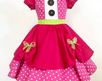 Lalaloopsy Jewel Sparkle Inspired Costume Dress