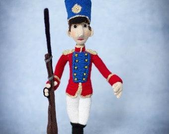The Steadfast Tin Soldier - ToyMagic Сrochet Pattern [PDF instant download] Hans Christian Andersen fairytale