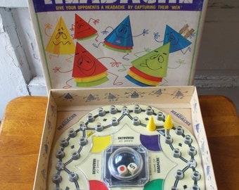 Vintage Headache Pop O Matic Game Kohner 1968 Nice