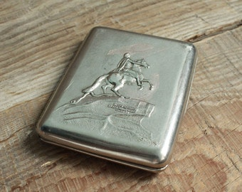 Cigarette Case Vintage  Soviet Cigarette Holder