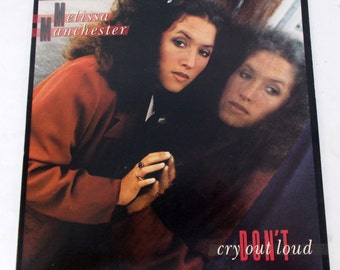 Melissa Manchester Don't Cry Out Loud Vinyl LP Record Album AB 4186