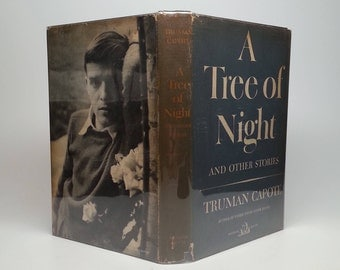 First Edition 1st Printing A Tree of Night And Other Stories by Truman Capote - Random House, 1949 Hardcover Book with Original Dust Jacket