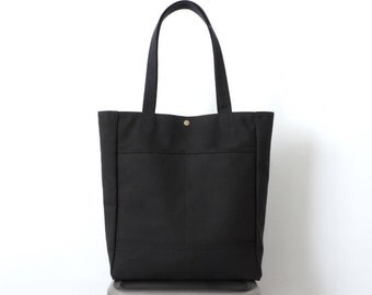 Black backpack purse multi way sack bag SALE black tote bag