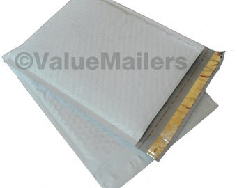 100 2 POLY Bubble Mailers 8.5x12