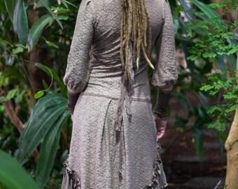 Wandering mertle ~* Bohemian Cotton Lace Pixie Dress