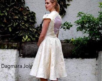 One of a kind wedding dress, yellow wedding dress, summer dress, evening wear, evening dress, OOAK, bridesmaid dress, prom dress,
