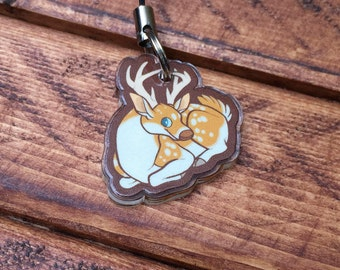 "1"" Animal Charms - White-Tailed Deer"