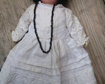 Small vintage German bisque doll