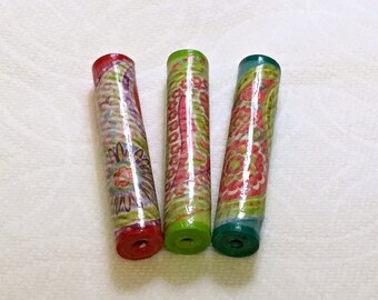 Paper Beads - Paisley