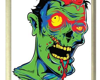 Zombie Horror Fridge Magnet 7cm by 4.5cm