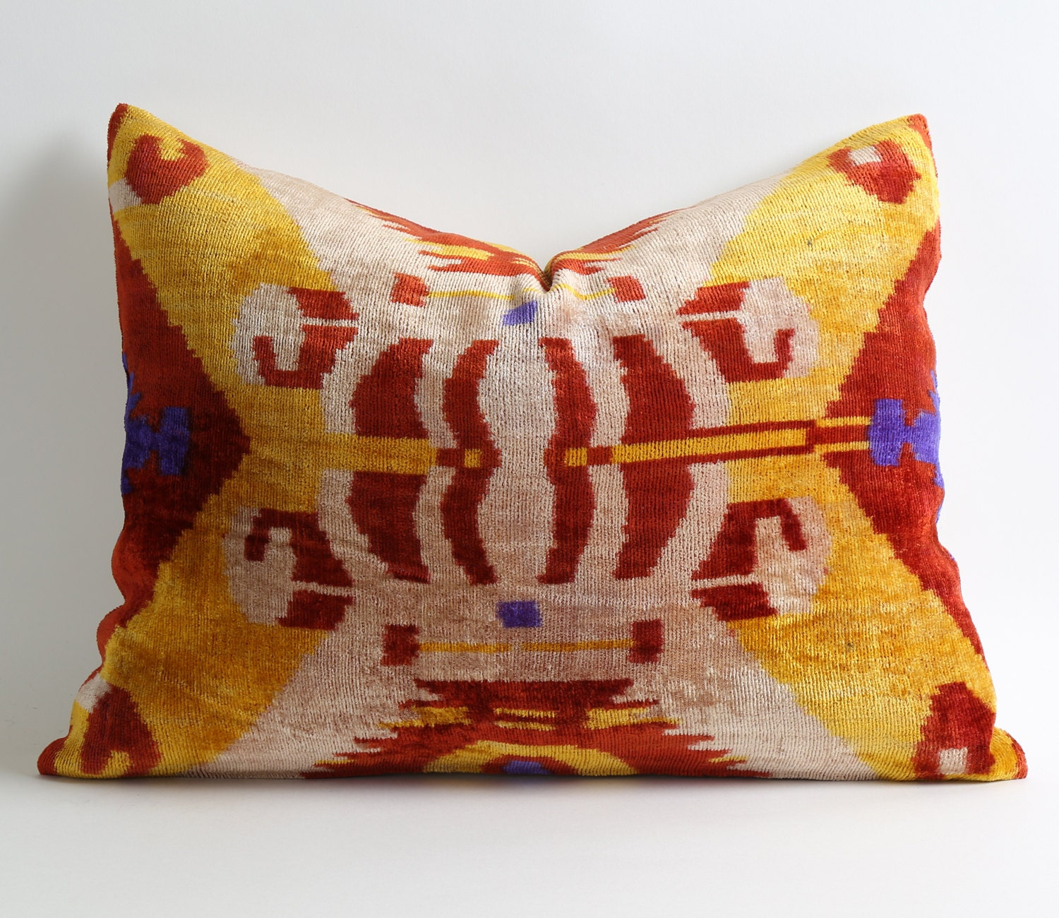 Decorative Pillows Etsy : Ikat Pillow Case Decorative Pillows For Couch Sofa Pillows