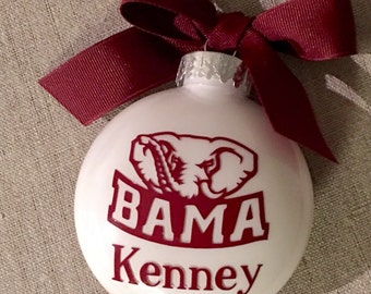 RollTide holiday ornament