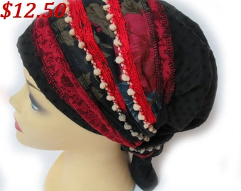 Apron style (Sinar) headcover / mitpachat / tichel / snood