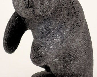 Native American Zuni Pueblo Indian Fetish Beautiful Black Bear with Amazing Detail by Brion Hattie - Signed