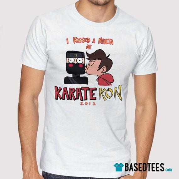 I kissed a Ninja at  Karate-Kon 2012 - T-Shirt