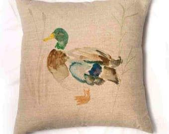 Mallard Duck Cushion Pillow