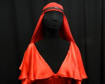 Legend of the Seeker Sister of the light red silk dress custom made to your size!