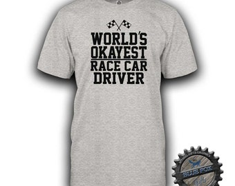 Drag racing t shirt etsy for Race car driver t shirts