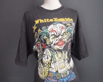 White Zombie t-shirt - band shirt - rock tee - vintage t-shirt - vintage metal tee - tour t-shirt - rock - punk - goth - grunge - 90s