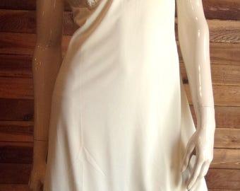 Vintage Lingerie 1960s LORRAINE Ivory Size 34 Full Slip