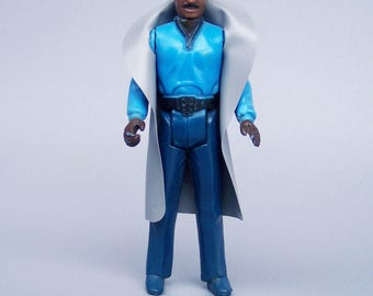 Vintage Star Wars No Teeth Lando Calrissian Figure Complete C8
