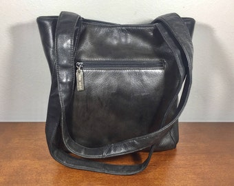 Nine West, Black Leather Purse, Bag Shoulder Bag