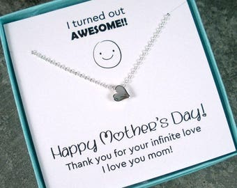 Mothers Day Gift - Mothers Day from Son or Daughter Grandma Mothers Day Gift Necklace Mothers Day Jewelry SALE Unique Mothers Day Card Funny