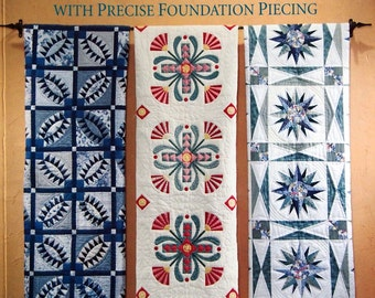 Classic Quilts With Precise Foundation Piecing By Tricia Lund & Judy Pollard Paperback Quilting Pattern Book 1996
