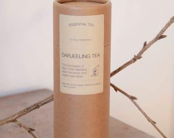 DARJEELING Black Tea. Finest darjeeling black tea leaves, from organic & fair agriculture.