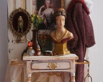 Antique, Victorian lady's furniture.