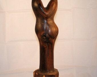 Vintage Wood Sculpture