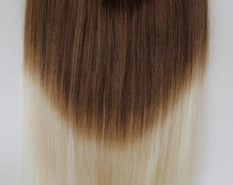 Magic-HALO-Secret -Miracle wire OMBRE -dip dye 100% Human Hair extensions/ 18 inches.