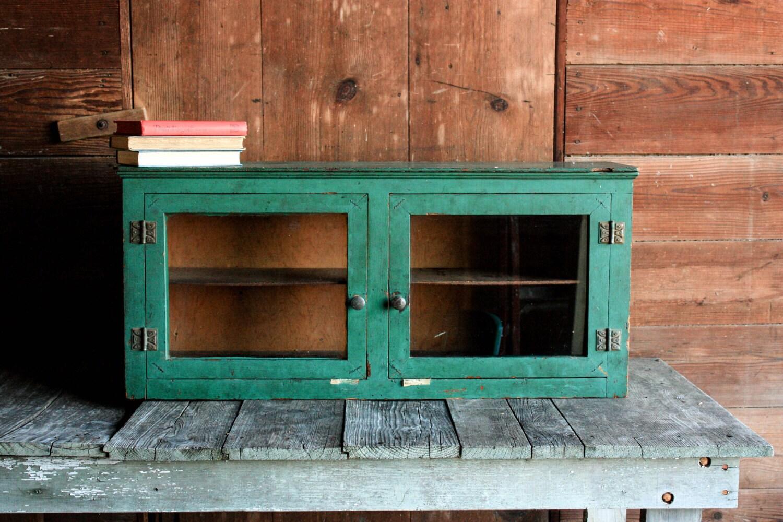 Vintage Wood Cabinet Rustic Entryway Cabinet Rustic